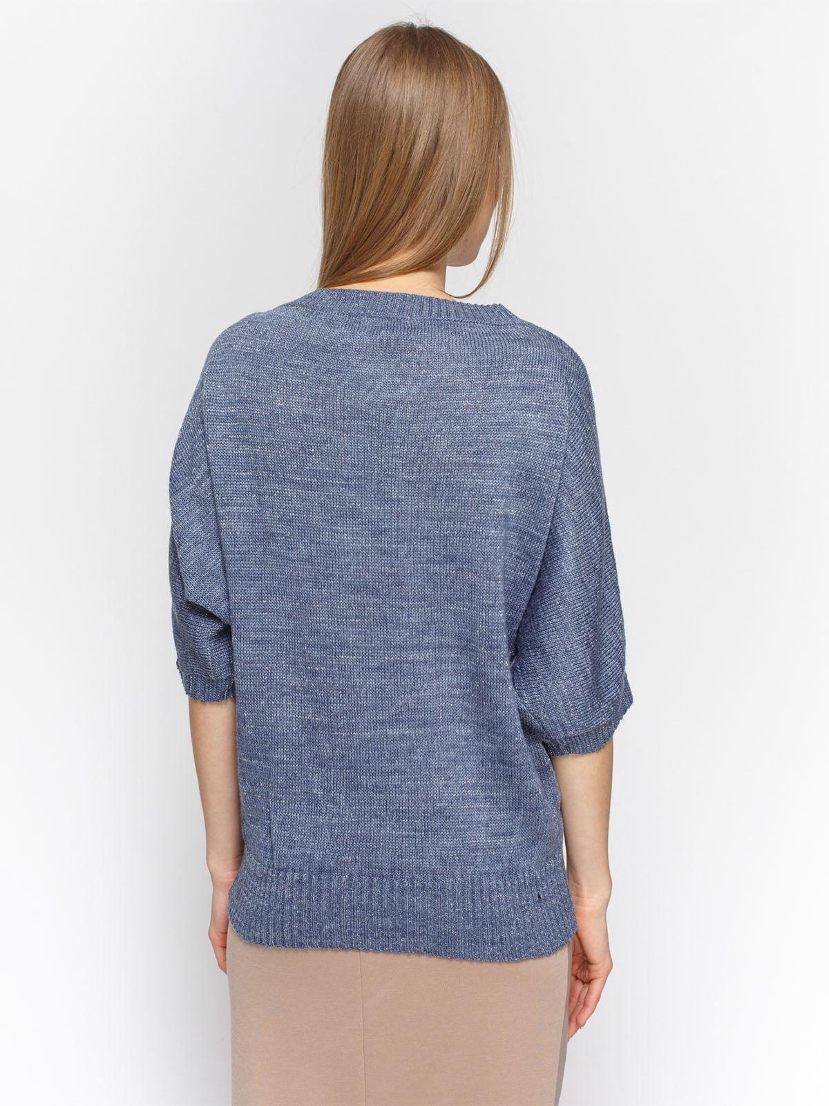 Пуловер синий | 4885871 | фото 2