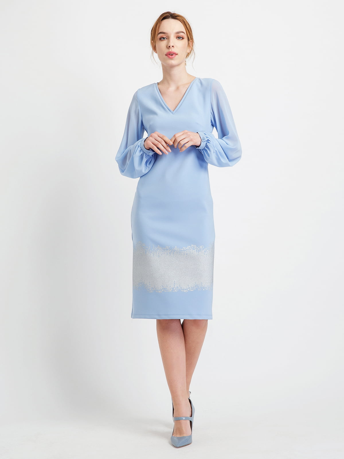 Сукня блакитна | 4891226