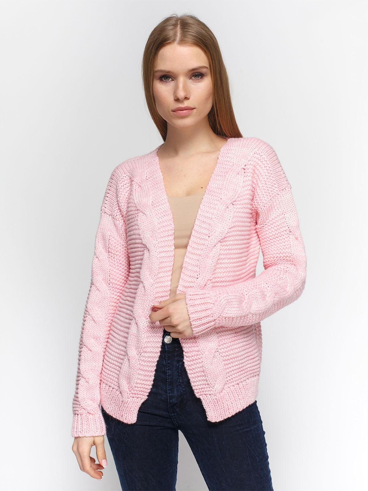 Кардиган рожевий | 4885918