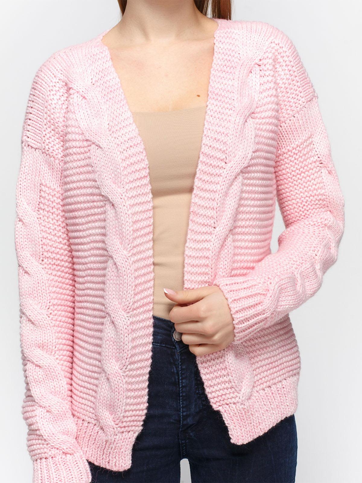 Кардиган рожевий | 4885918 | фото 3