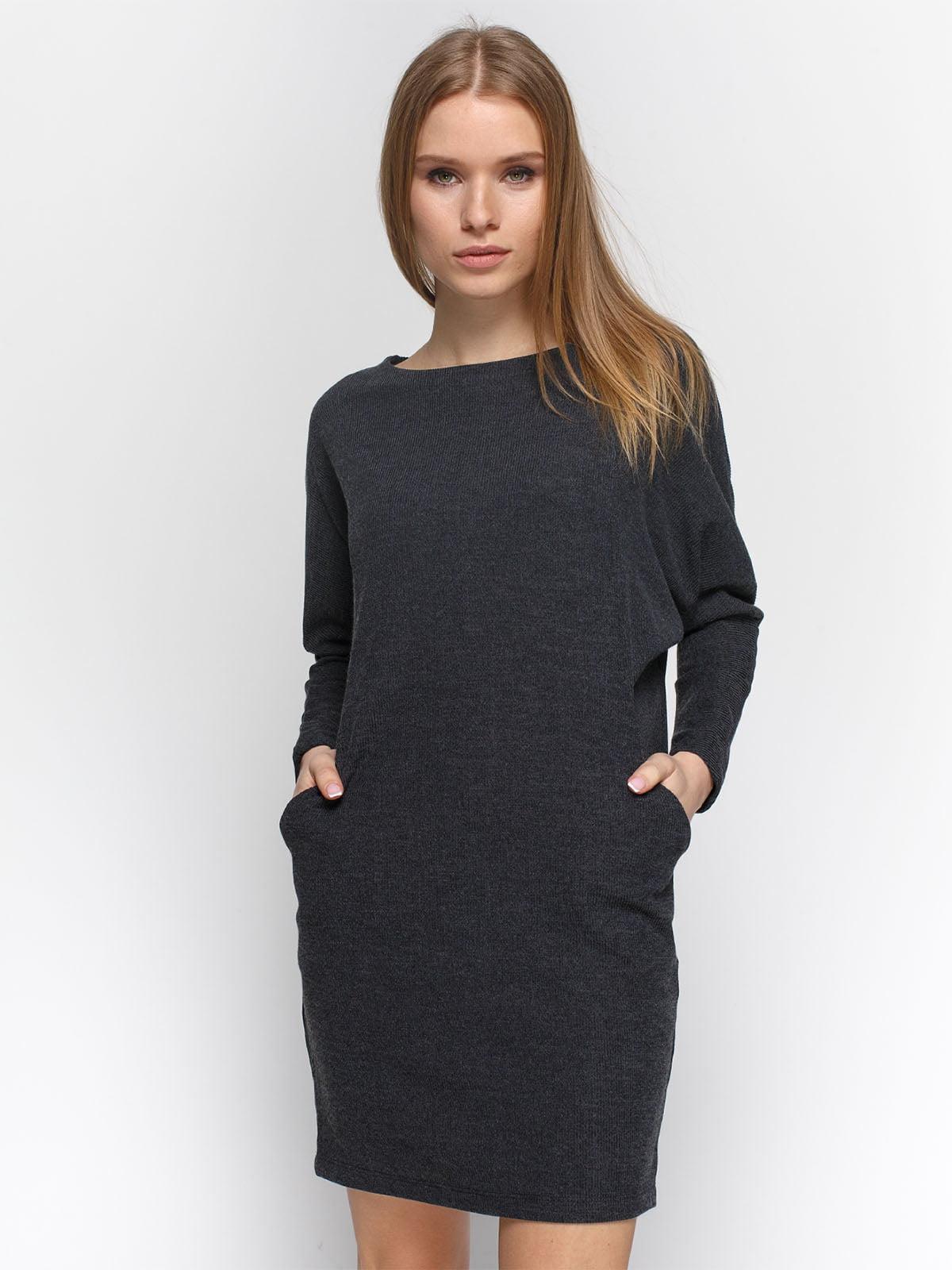 Сукня графітового кольору   4885926