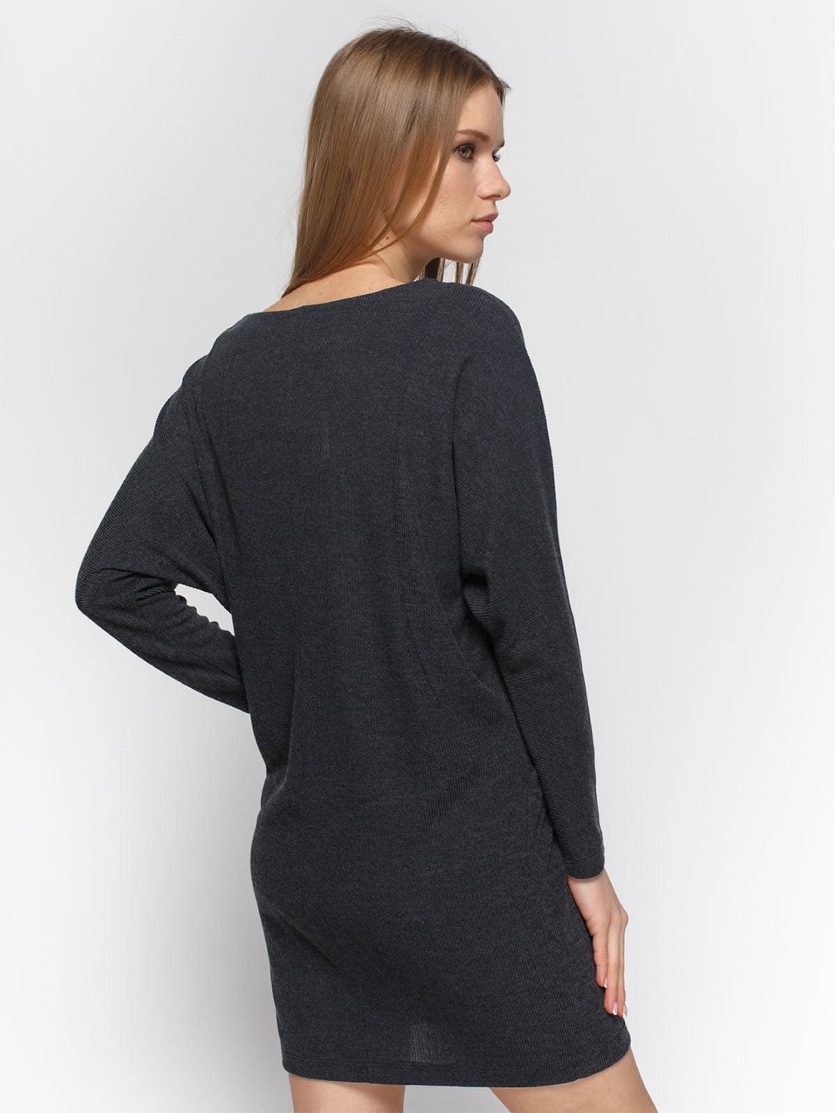Сукня графітового кольору   4885926   фото 2