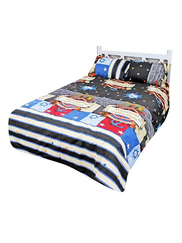 Комплект постільної білизни двоспальний (євро) | 4465825 | фото 2