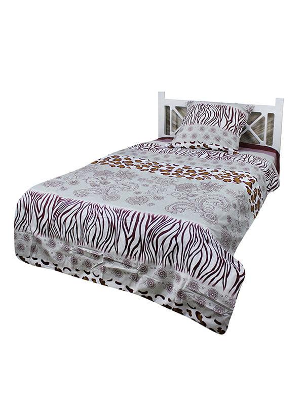 Комплект постільної білизни двоспальний   4891627