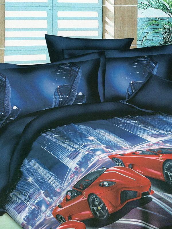 Комплект постільної білизни двоспальний (євро) | 4891645