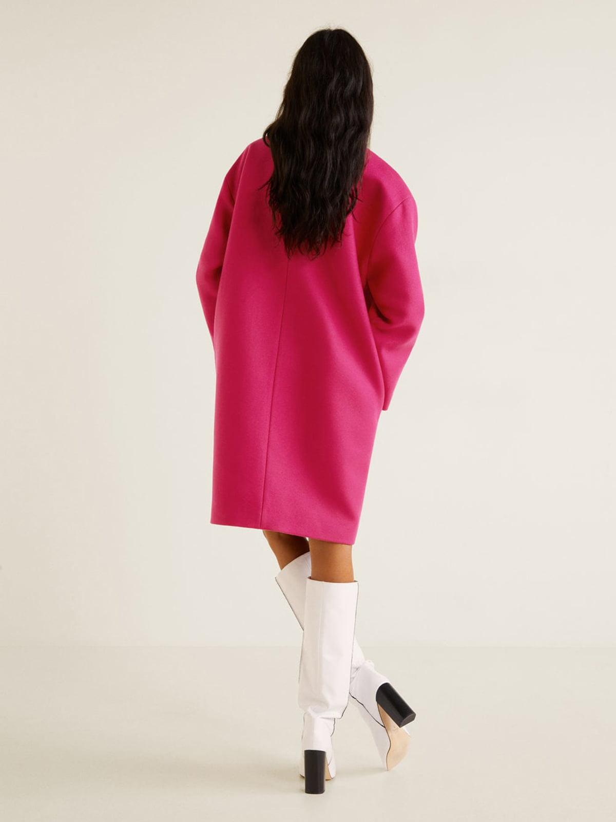 Пальто кольору фуксії | 4866911 | фото 9