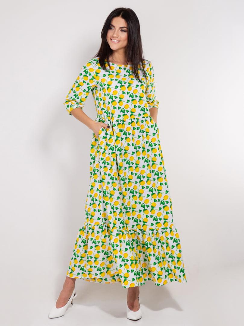 Платье в принт | 4893363