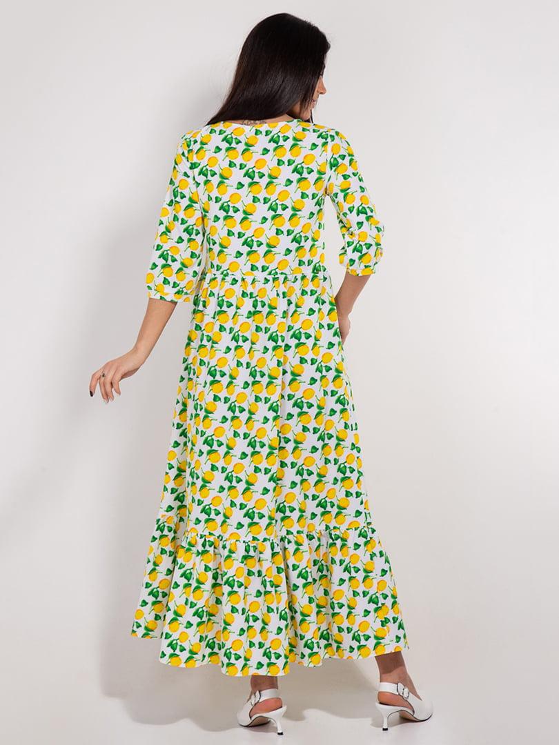Платье в принт | 4893363 | фото 2