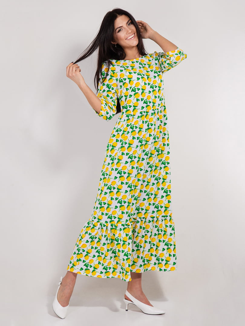Платье в принт | 4893363 | фото 3