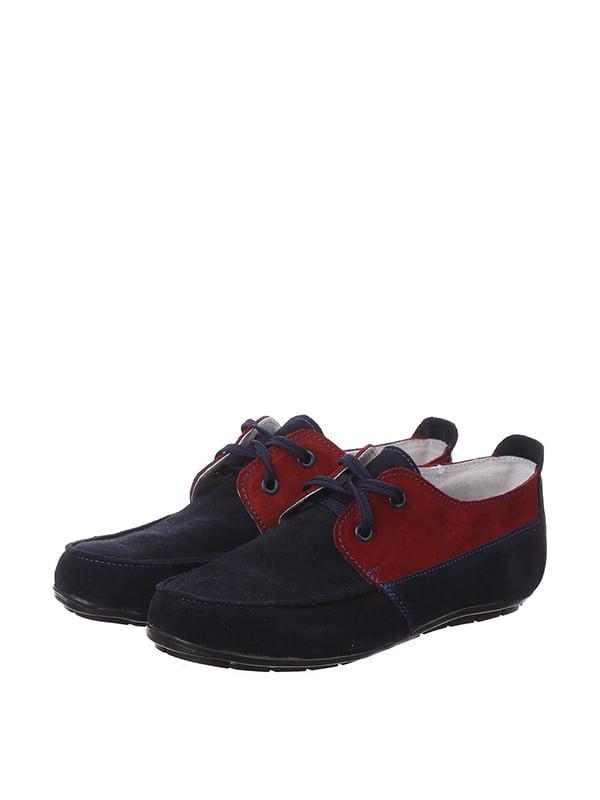 Туфли сине-красного цвета | 4893142