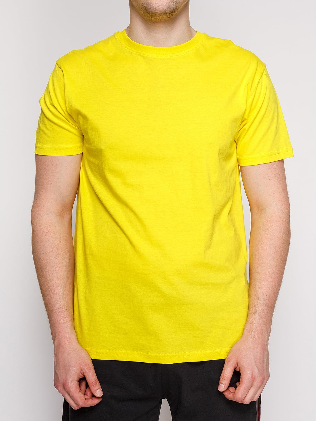 Футболка жовта | 4854909 | фото 3