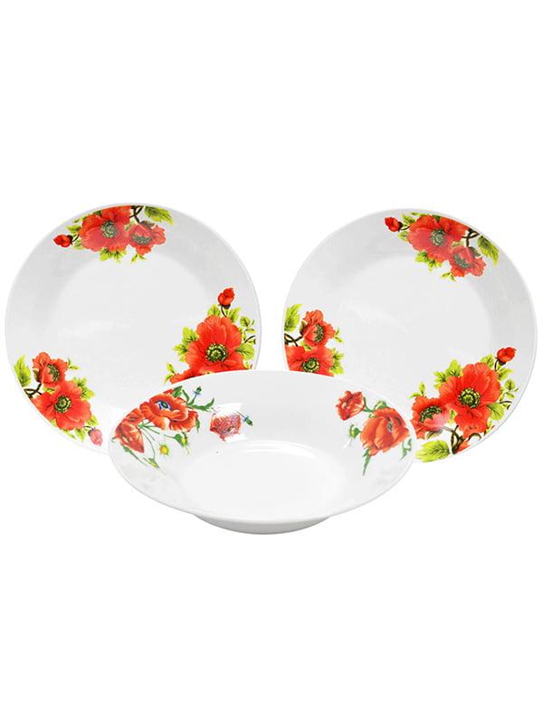 Набір столового посуду (18 предметів) | 4891726