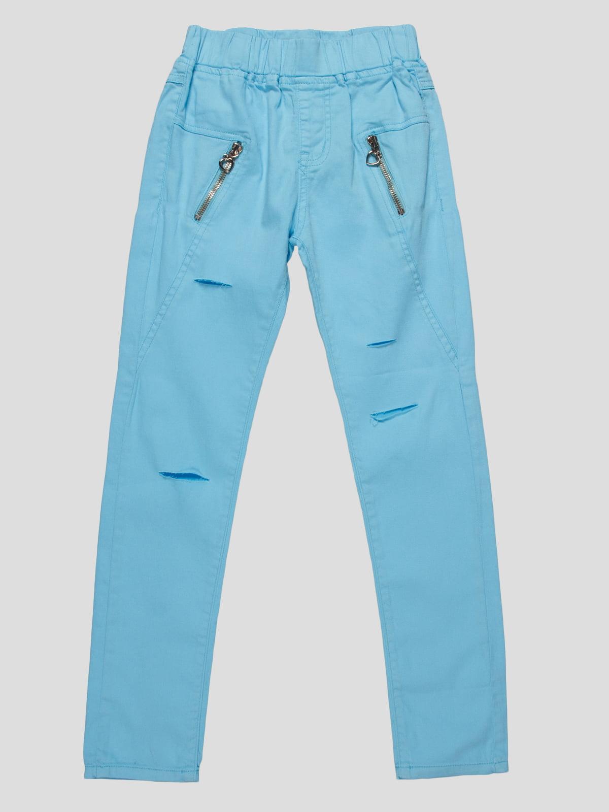 Штани блакитні   4890814