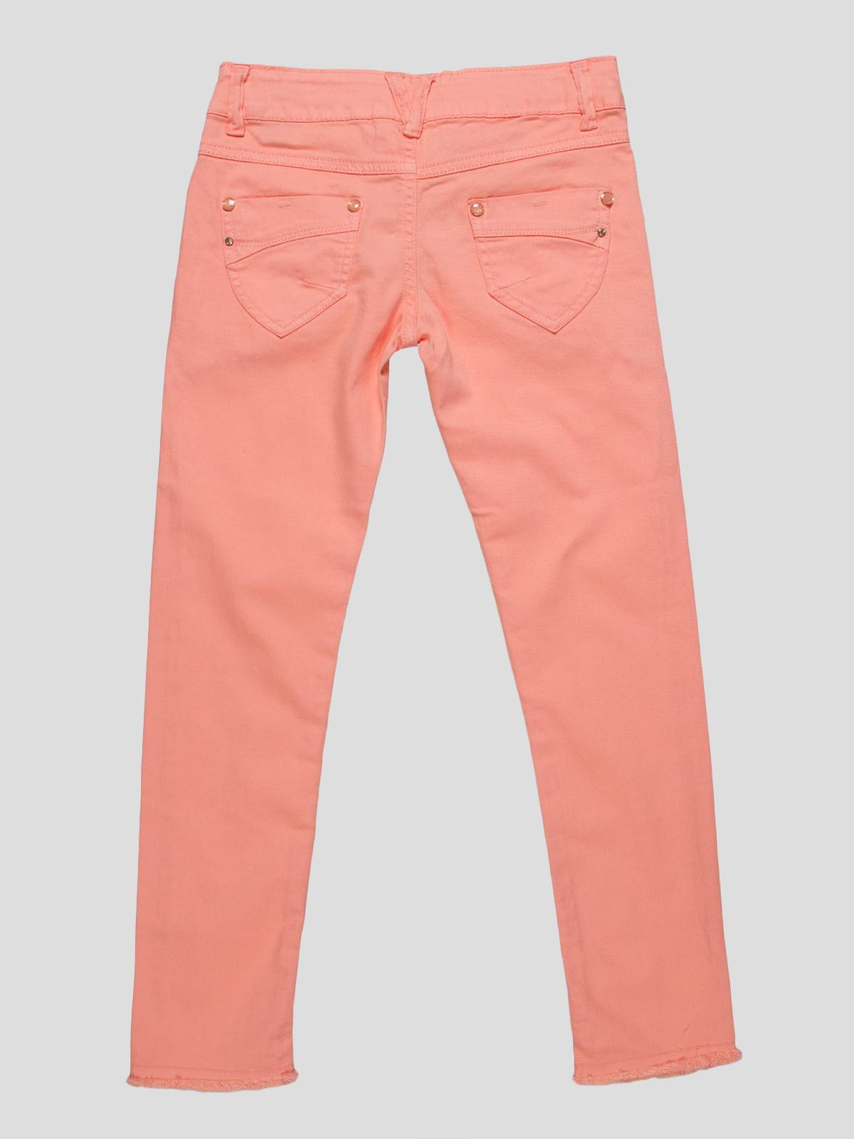 Штани персикового кольору | 4890773 | фото 2
