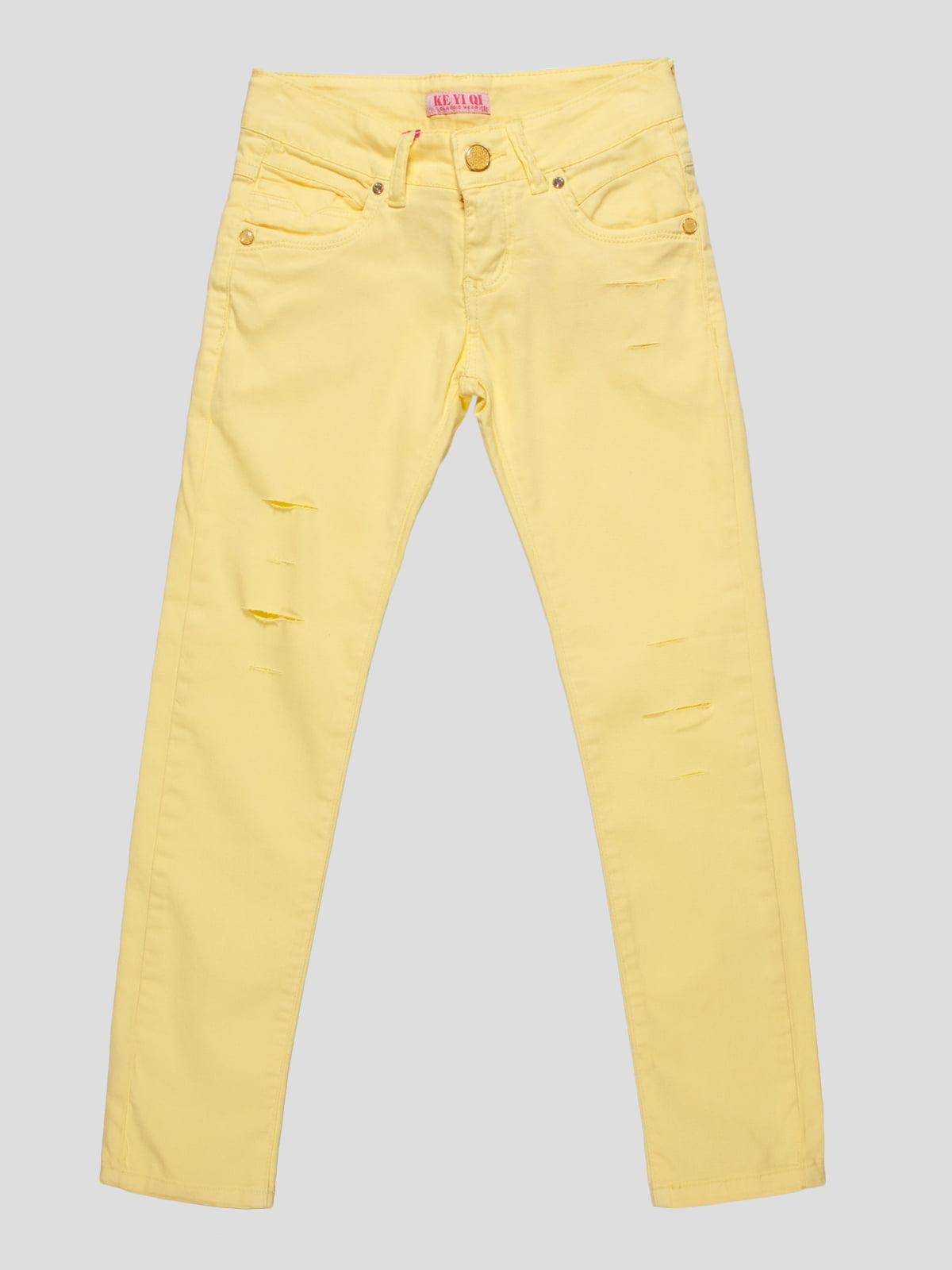 Штани жовті | 4890766