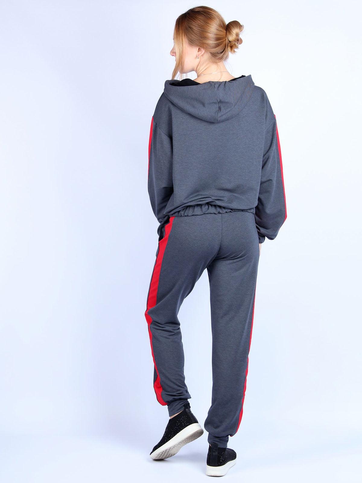 Костюм: худи и брюки   4894050   фото 2