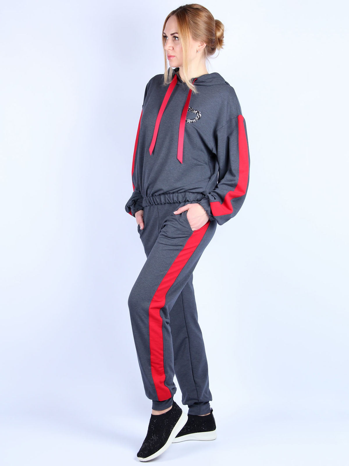 Костюм: худи и брюки   4894050   фото 4