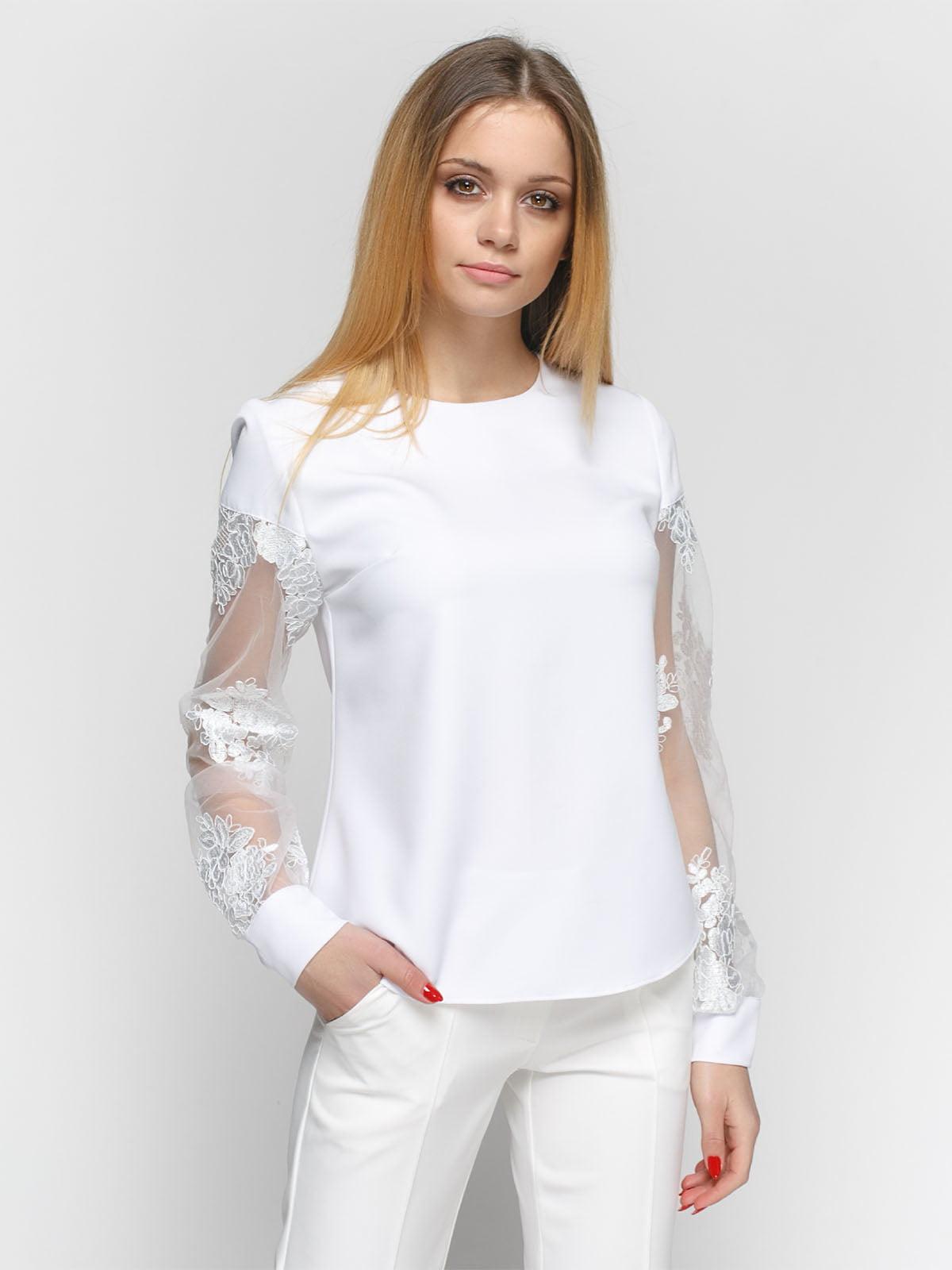 Блуза белая   4891450