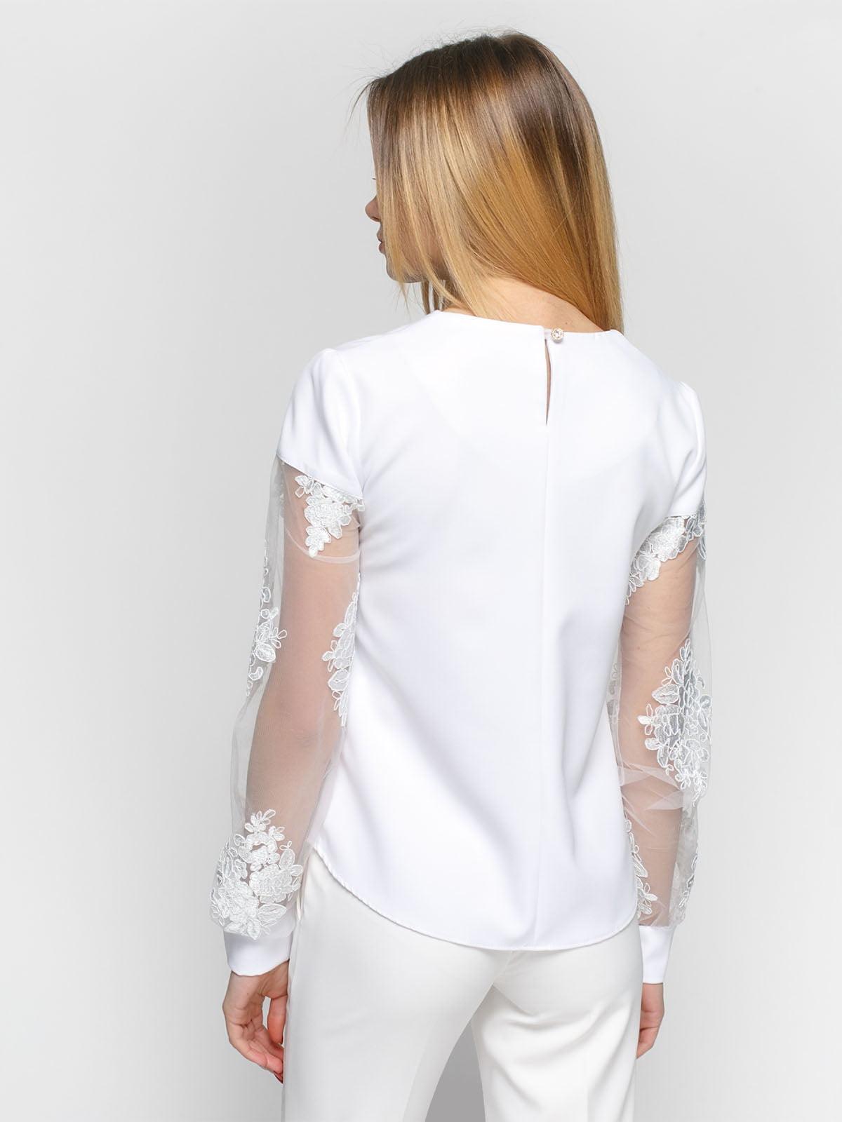 Блуза белая   4891450   фото 2