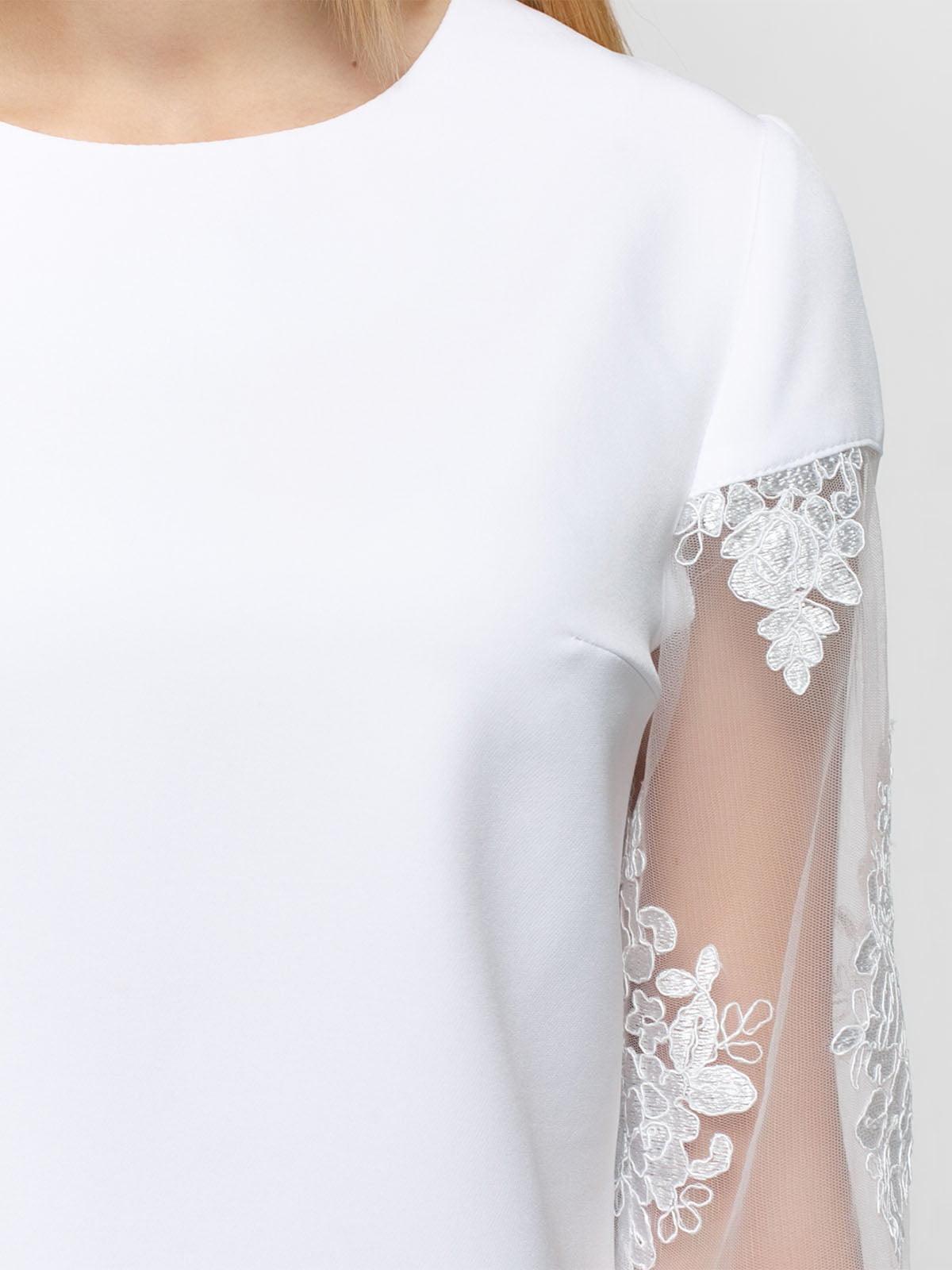 Блуза белая   4891450   фото 3