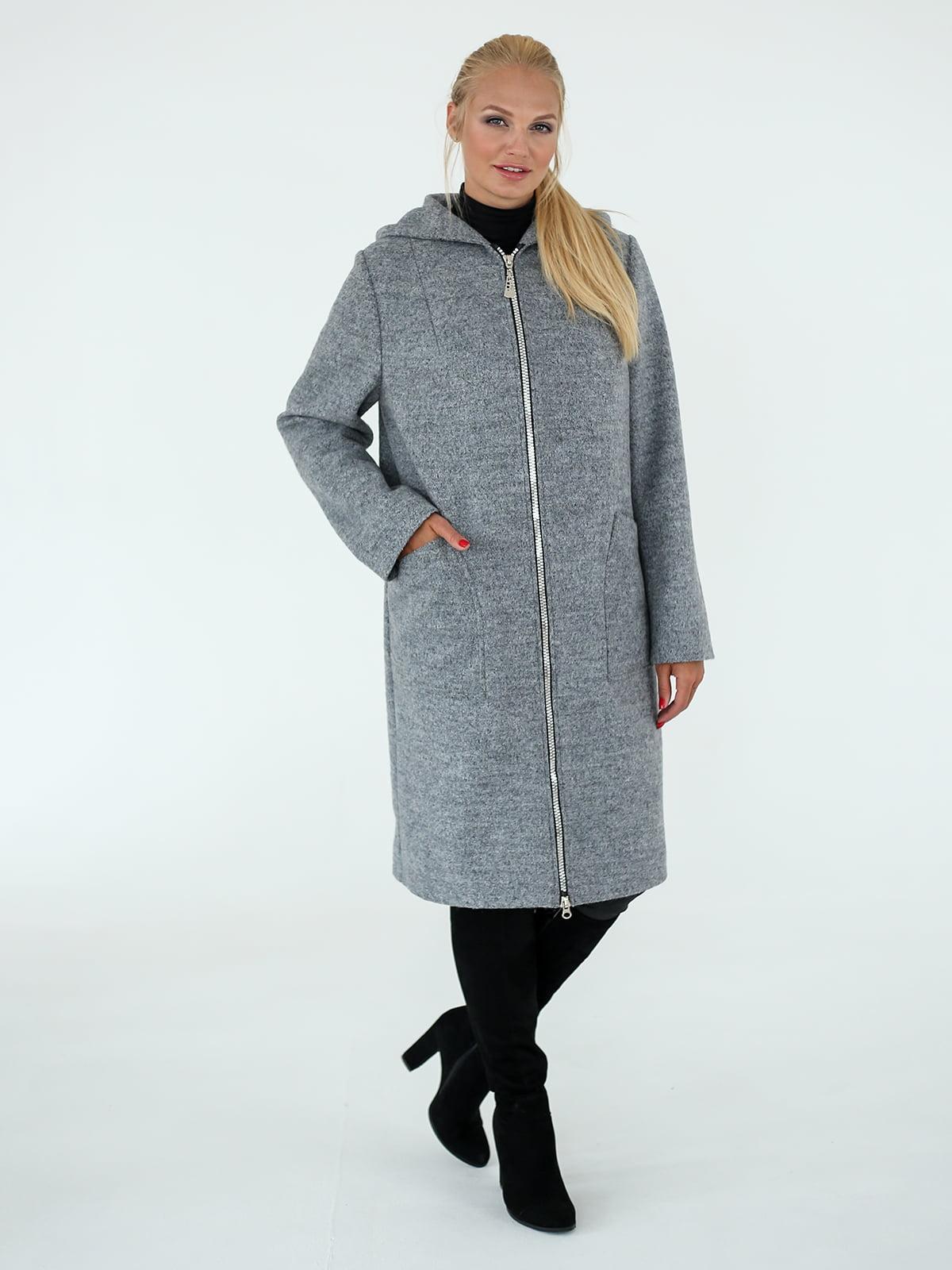 Пальто сіре | 4896807