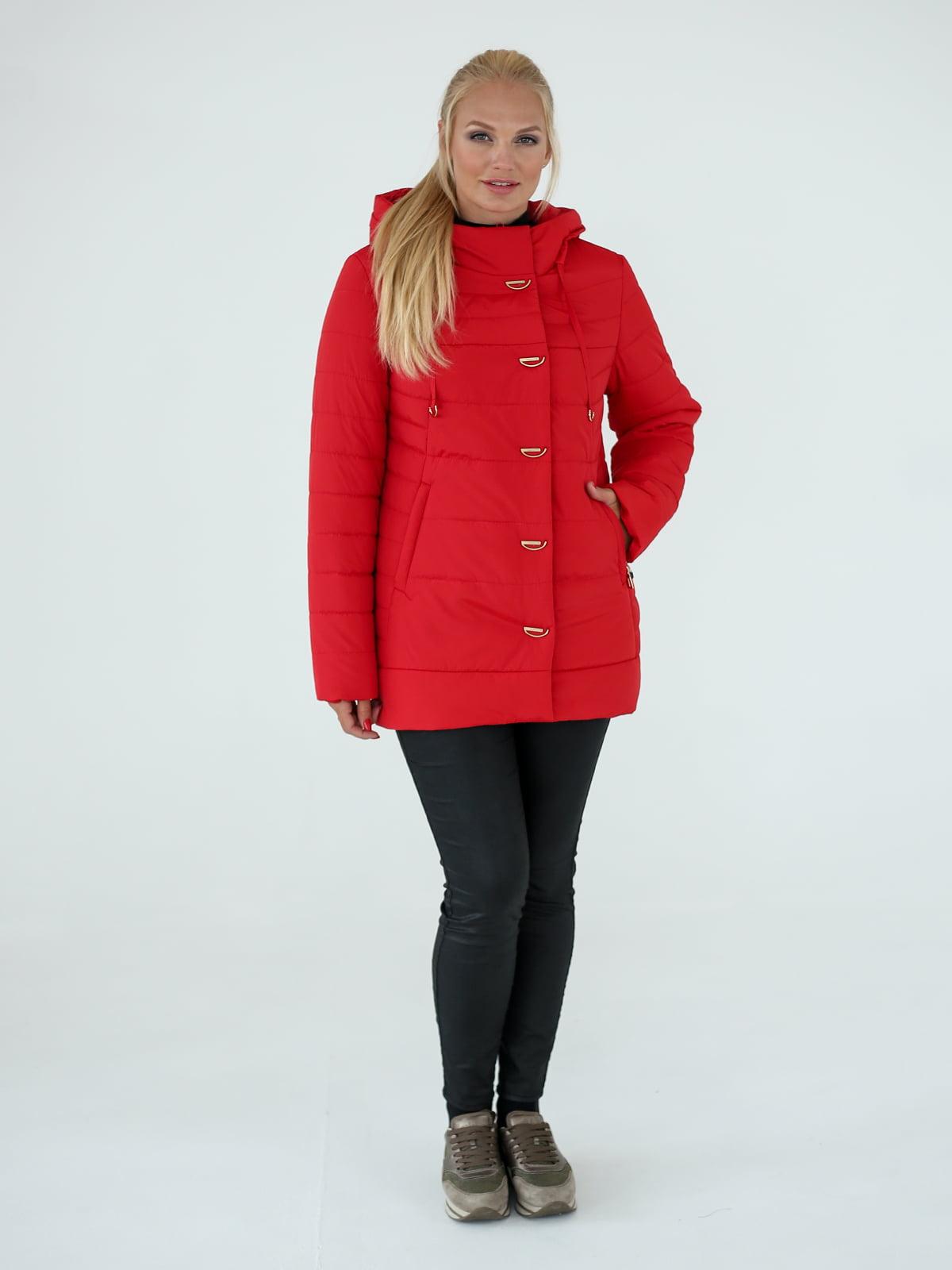 Куртка червона | 4022957