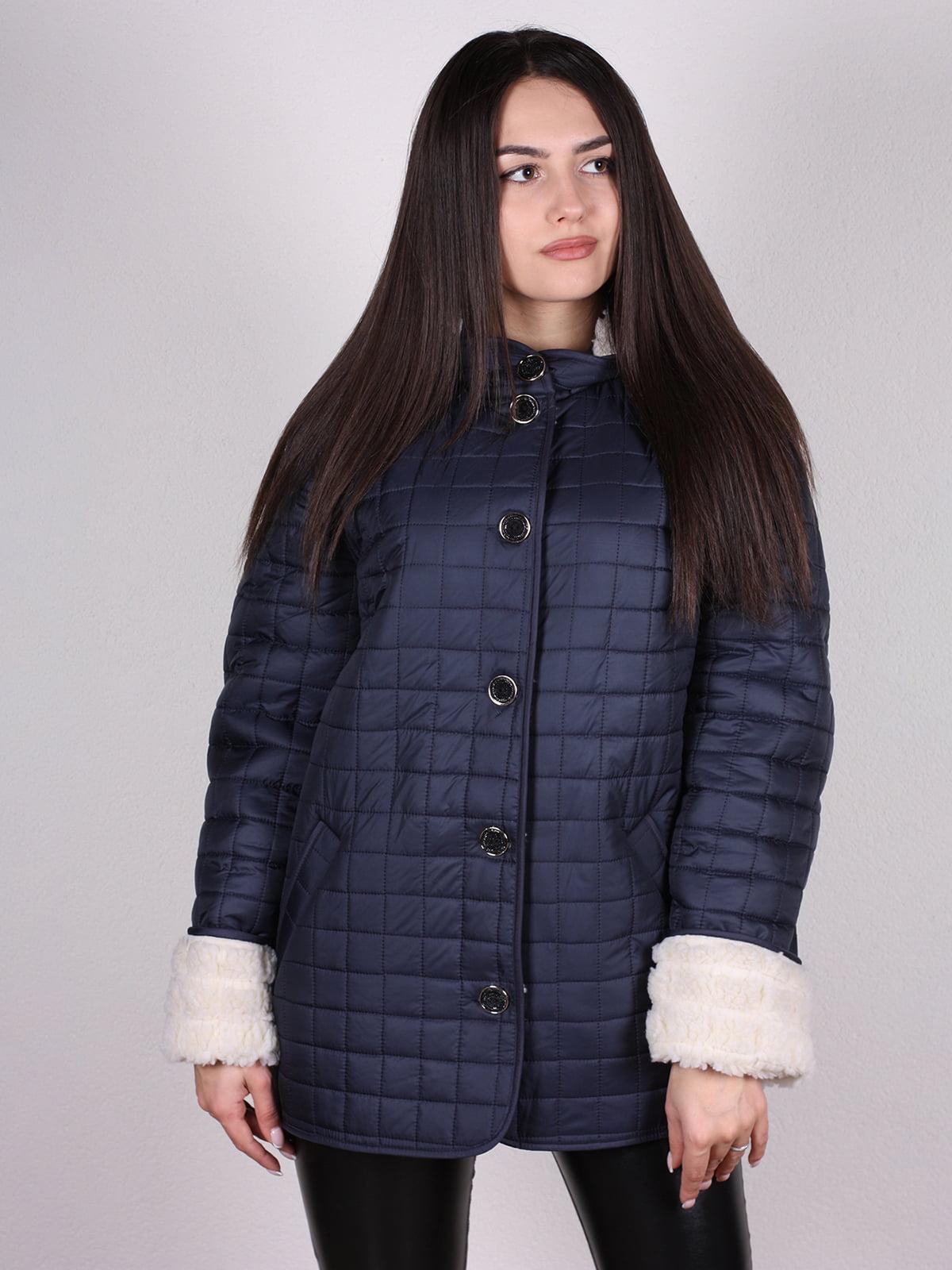 Куртка темно-синяя   4897390   фото 2