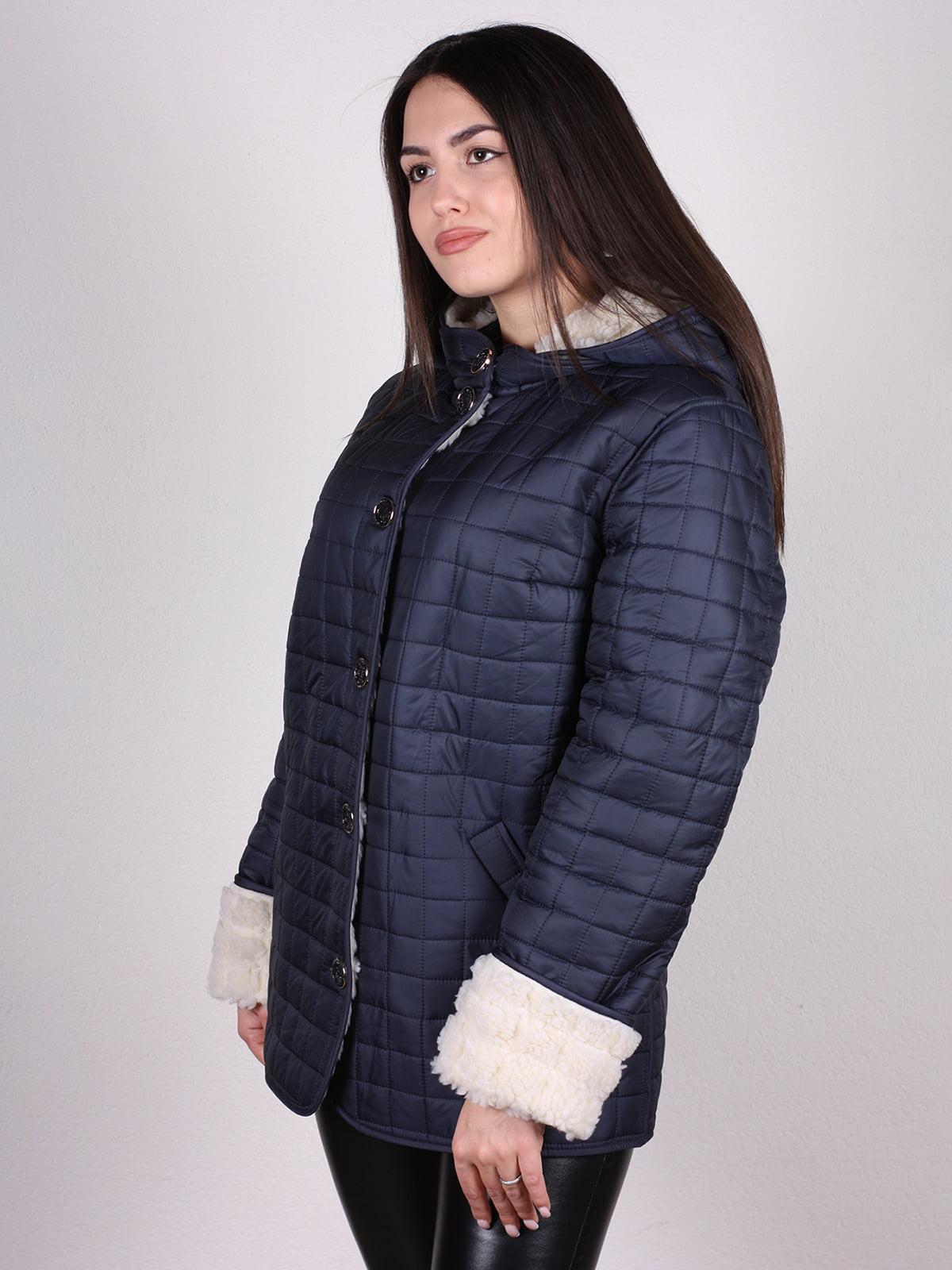 Куртка темно-синяя   4897390   фото 3