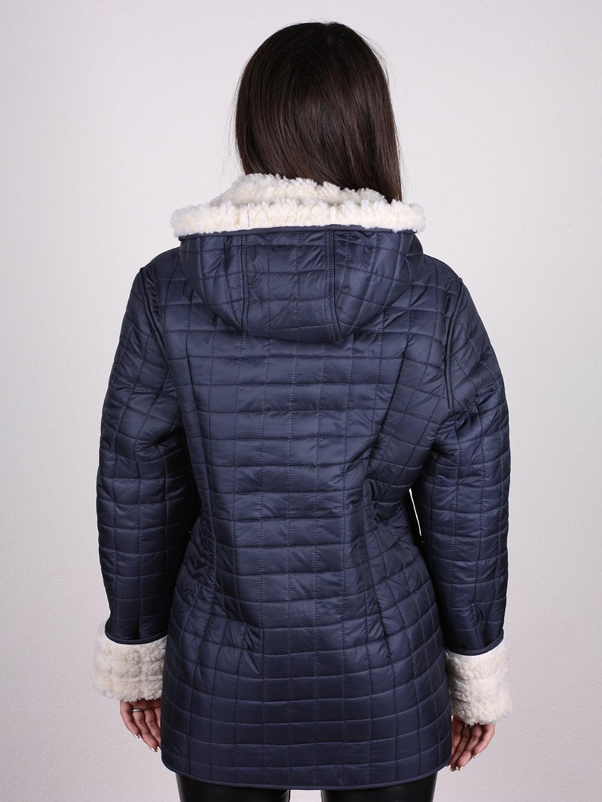 Куртка темно-синяя   4897390   фото 4