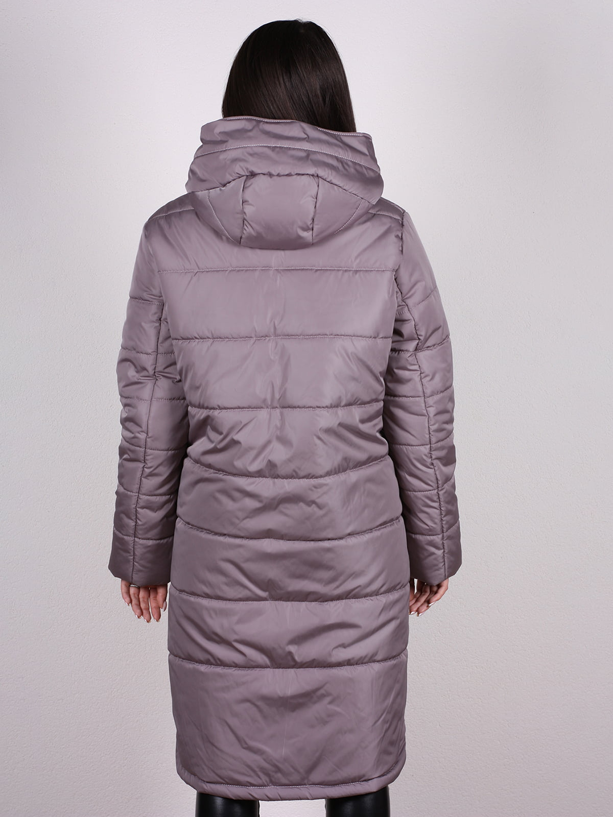 Пальто бежево-сиреневого цвета   4897392   фото 3