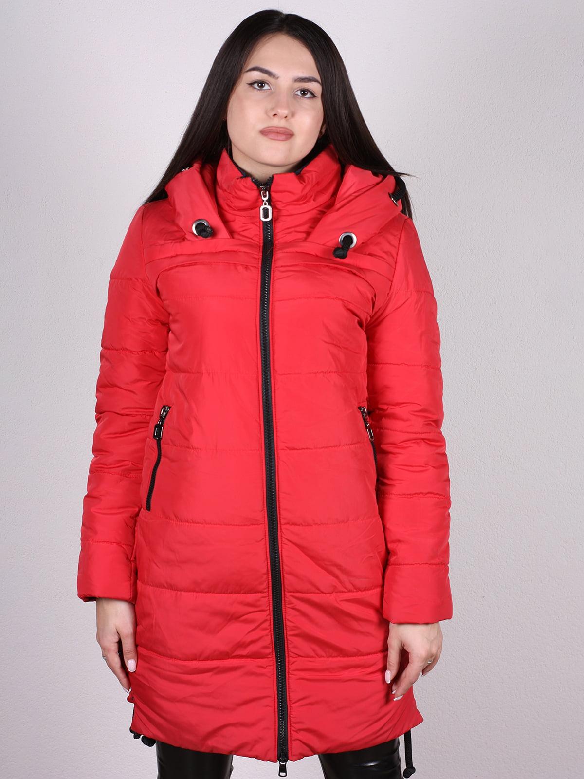 Пальто красное   4897400