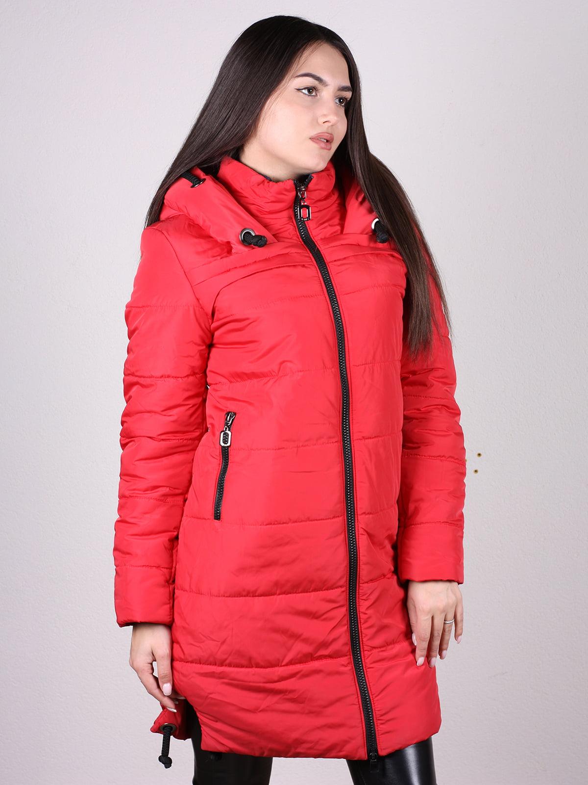 Пальто красное   4897400   фото 2
