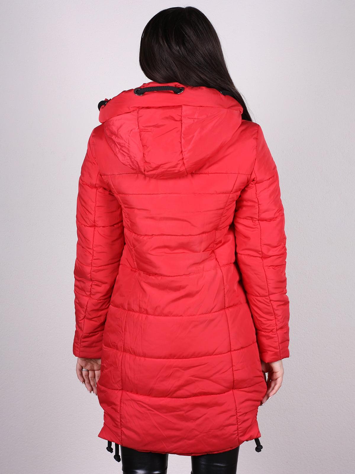 Пальто красное   4897400   фото 3