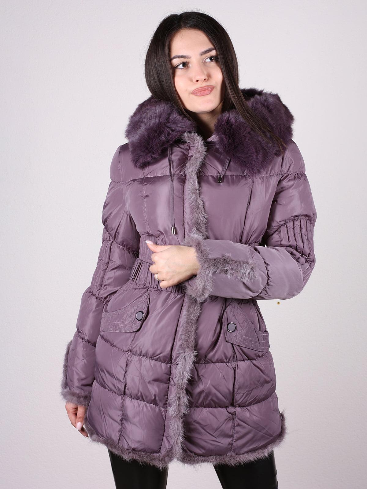 Пальто фиолетовое | 4897402