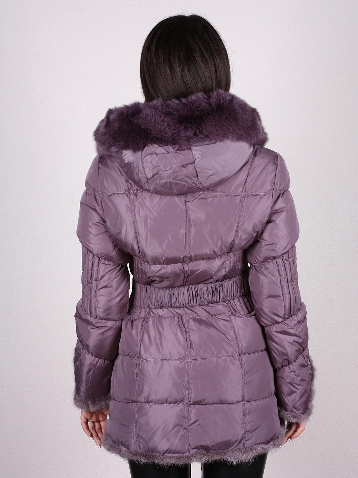 Пальто фиолетовое | 4897402 | фото 3