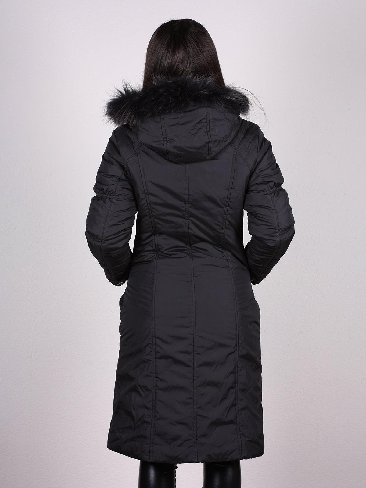 Пальто черное | 4897409 | фото 3