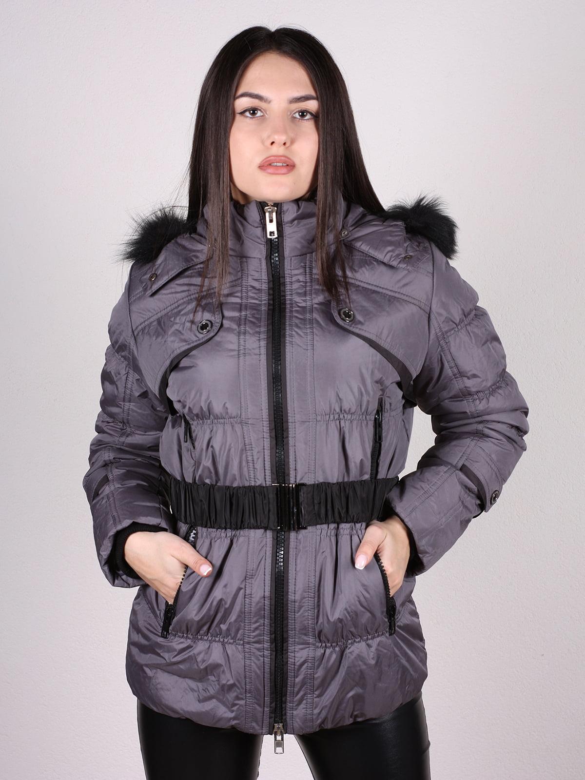 Куртка темно-серая | 4897411