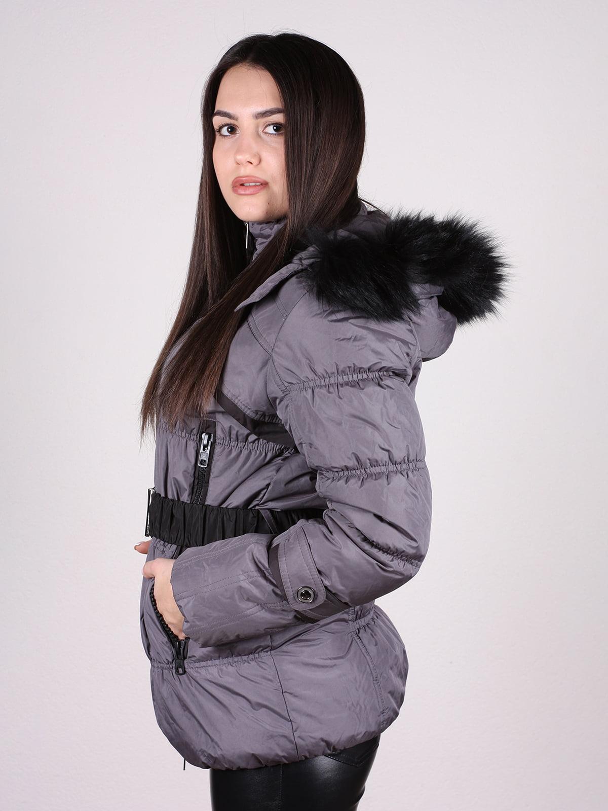 Куртка темно-серая | 4897411 | фото 2