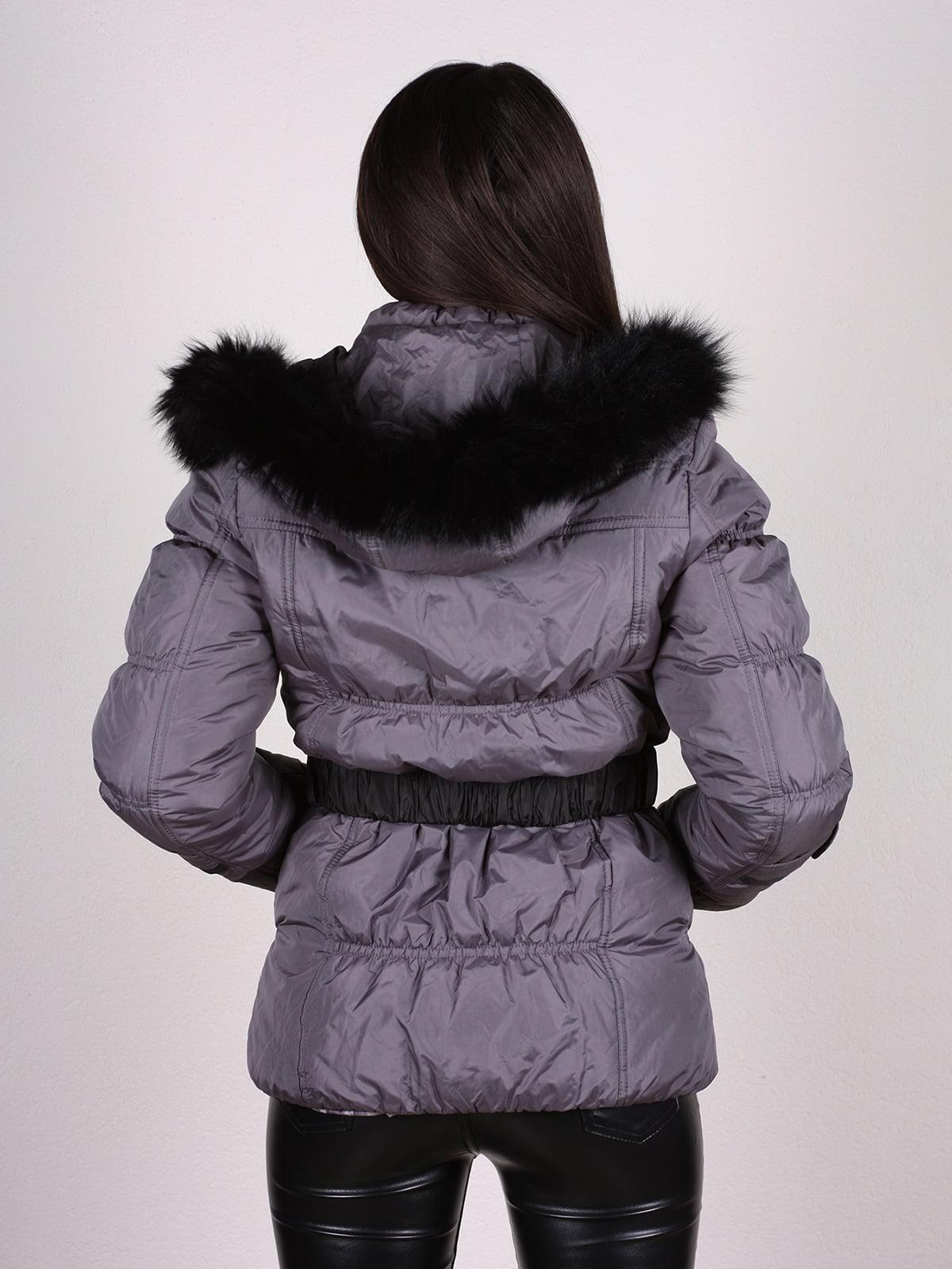 Куртка темно-серая | 4897411 | фото 3