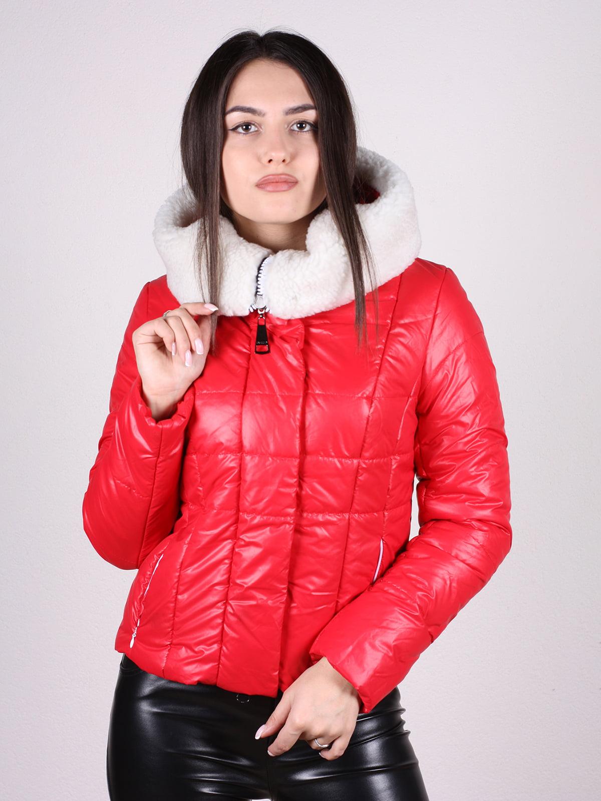 Куртка красная | 4897412