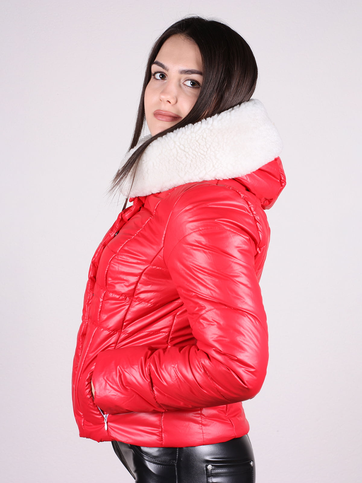 Куртка красная | 4897412 | фото 2