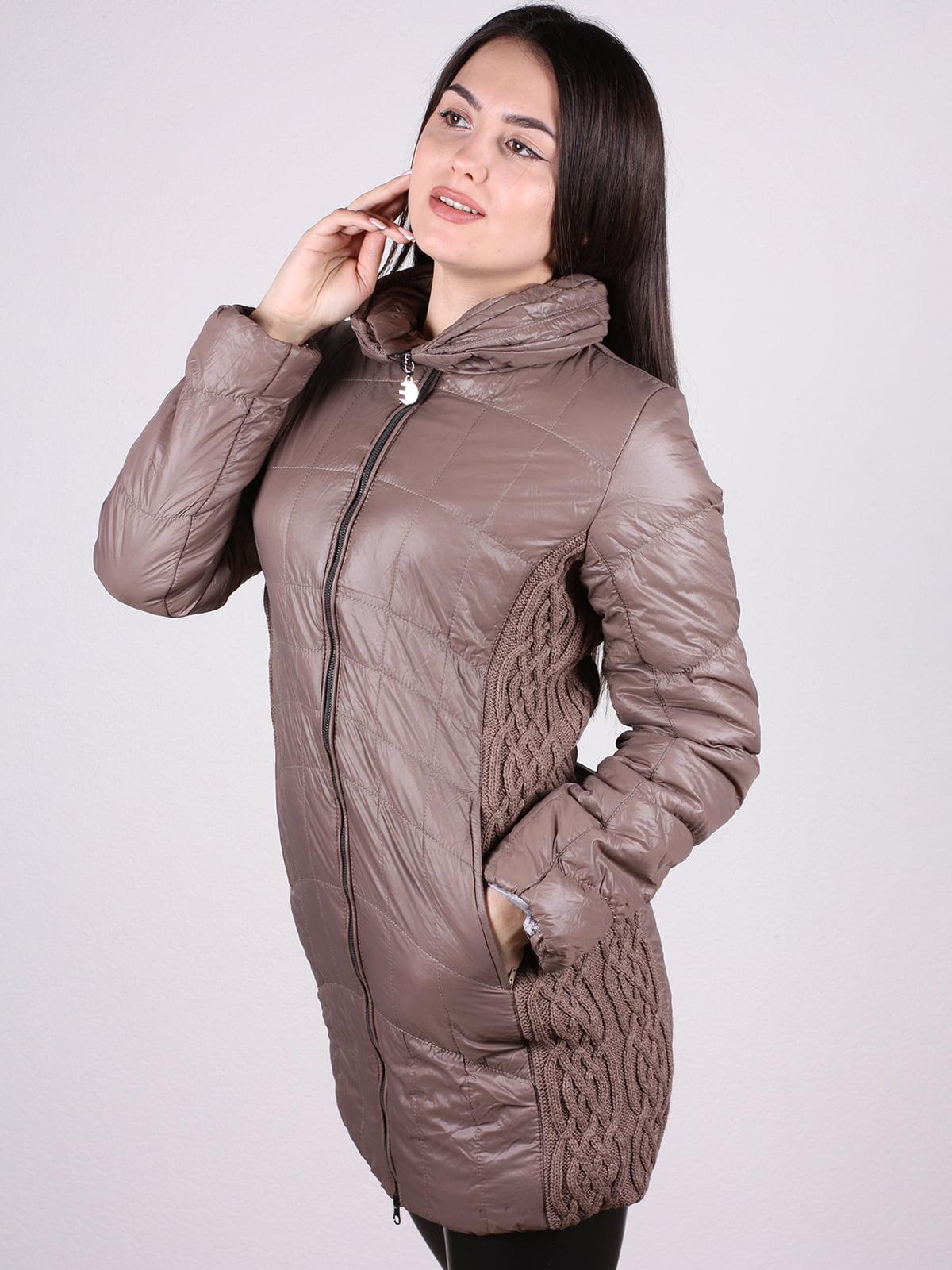 Куртка кофейного цвета | 4897413 | фото 2