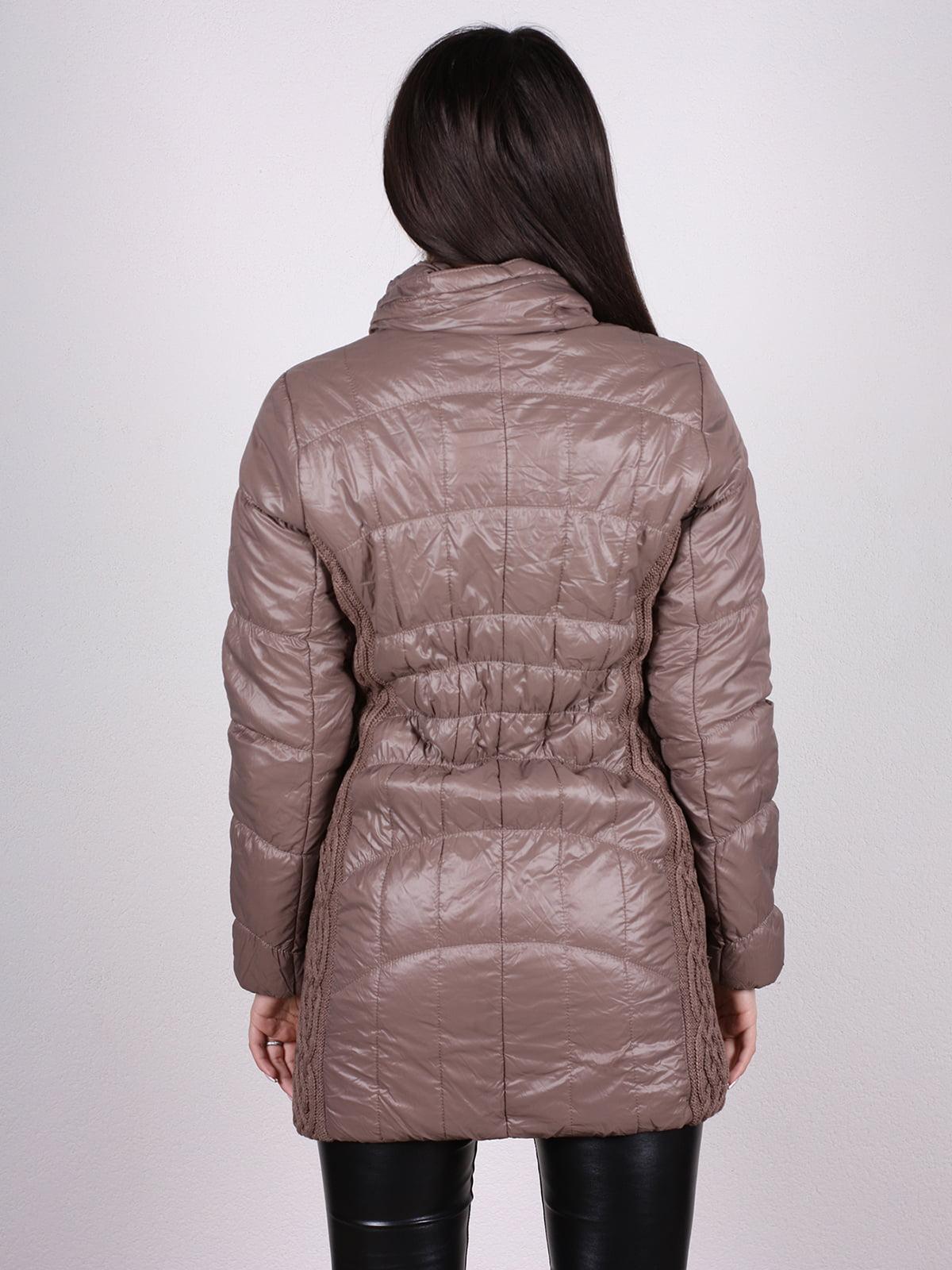 Куртка кофейного цвета | 4897413 | фото 3