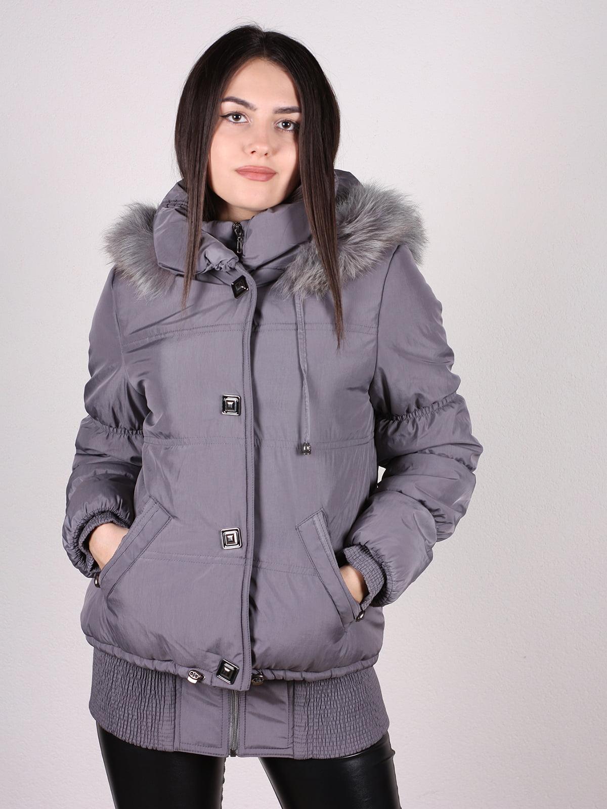 Куртка серая   4897416