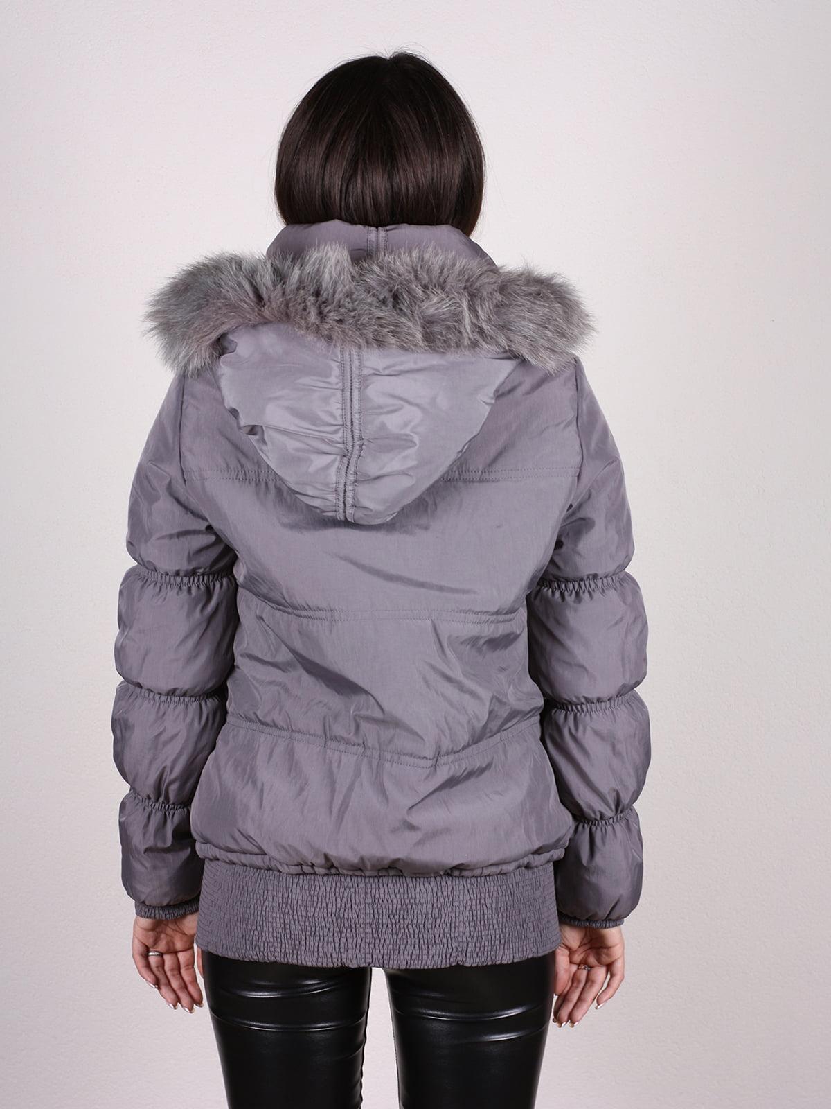 Куртка серая   4897416   фото 3
