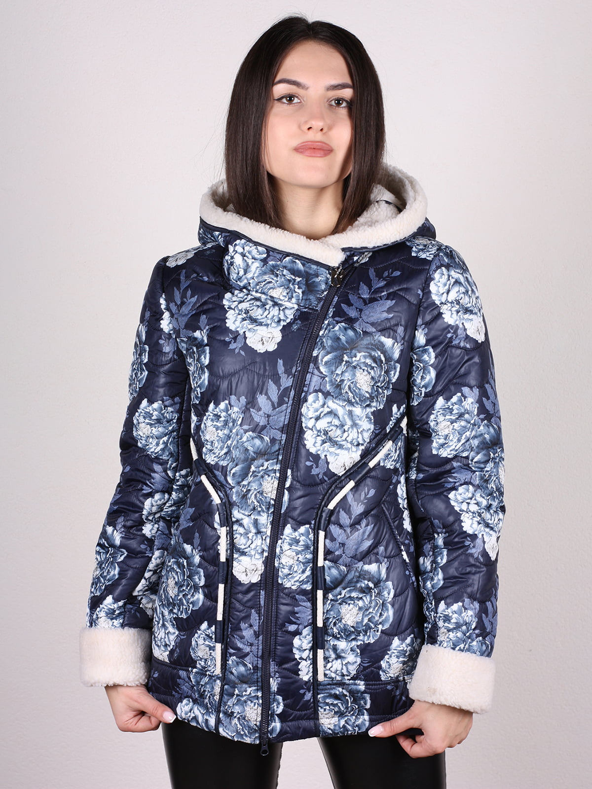 Куртка в принт | 4897421