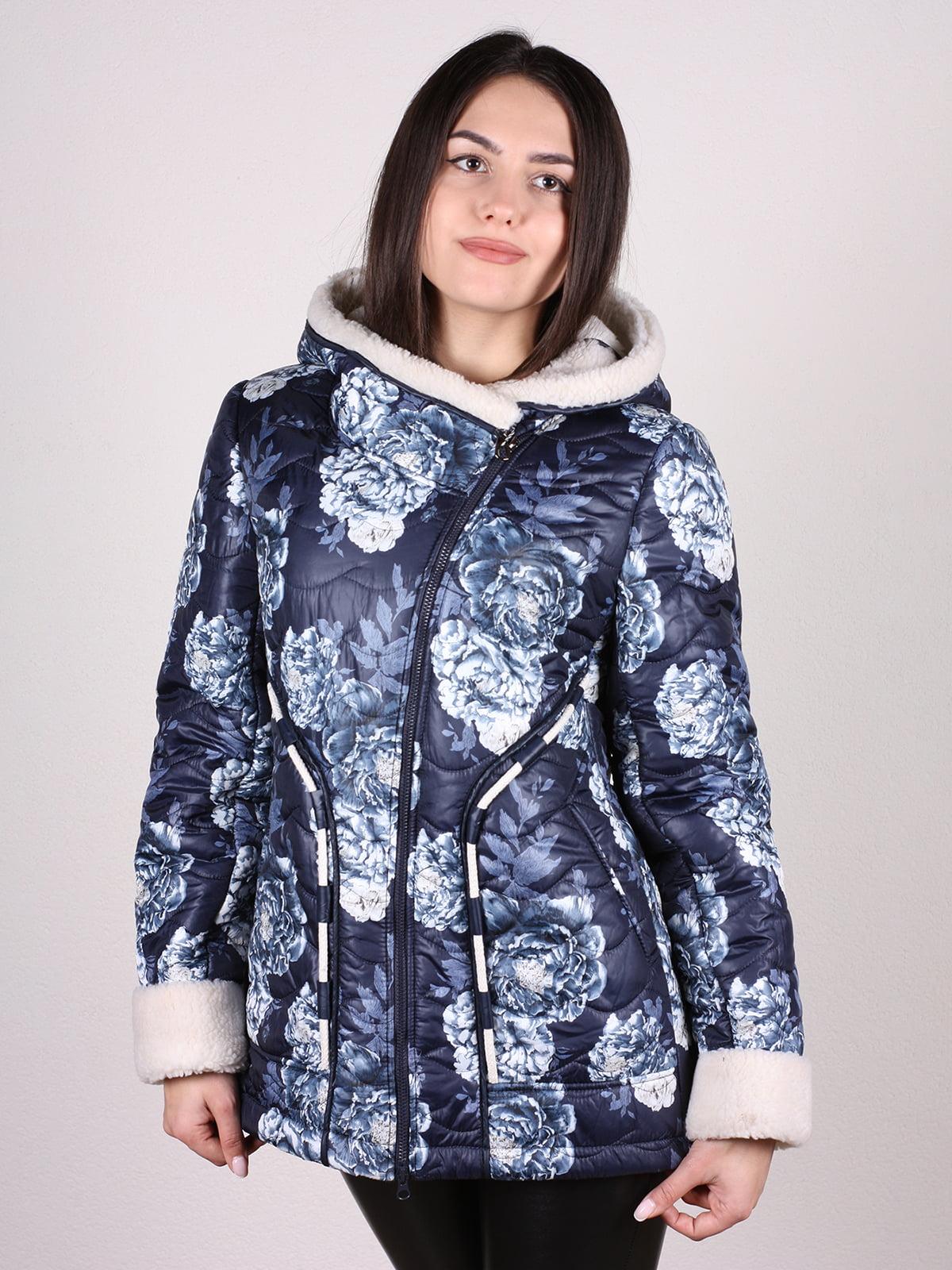 Куртка в принт | 4897421 | фото 2