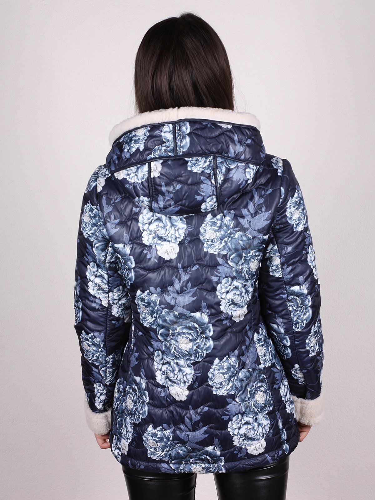 Куртка в принт | 4897421 | фото 3