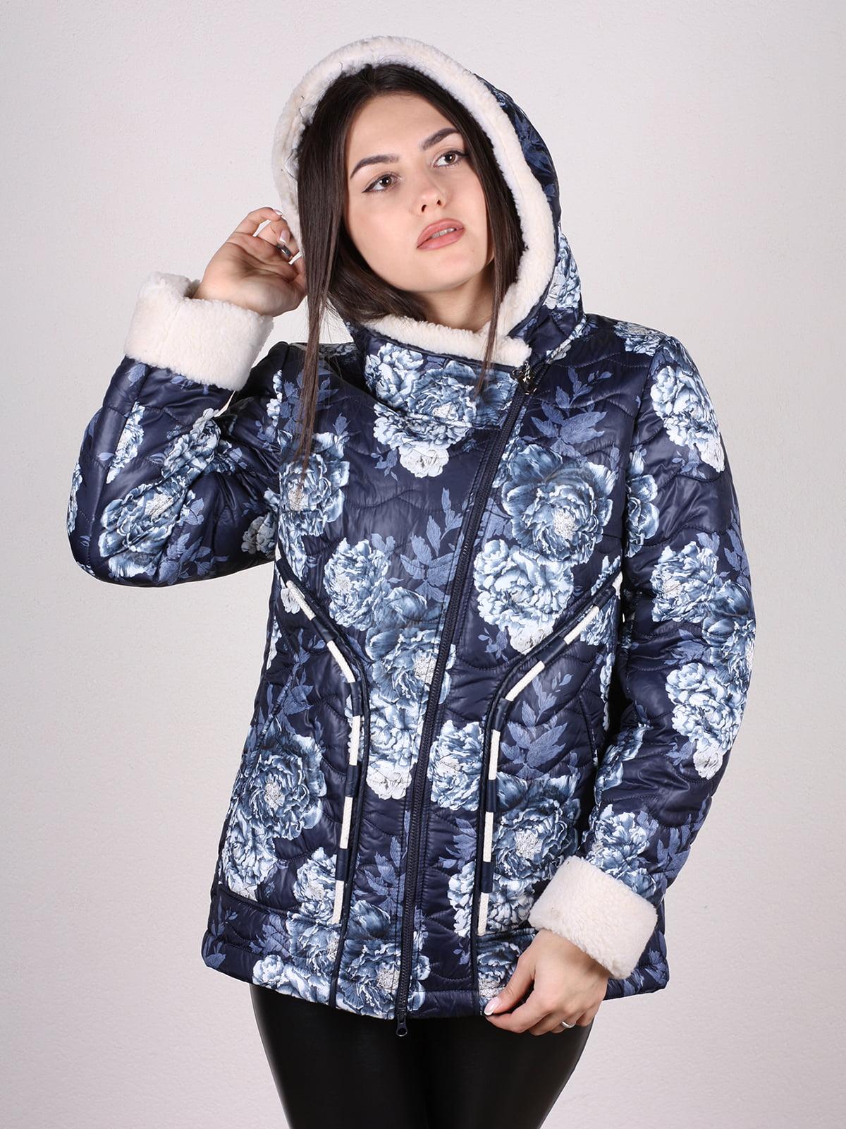 Куртка в принт | 4897421 | фото 4