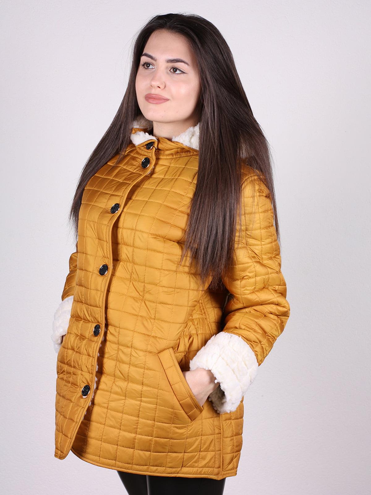 Куртка желтая | 4897422 | фото 2